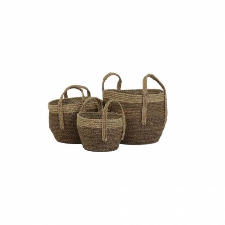 Nada Basket With Handles Large