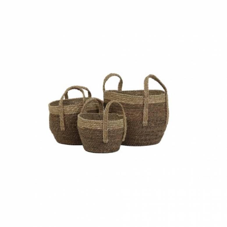 Nada Basket With Handles Large
