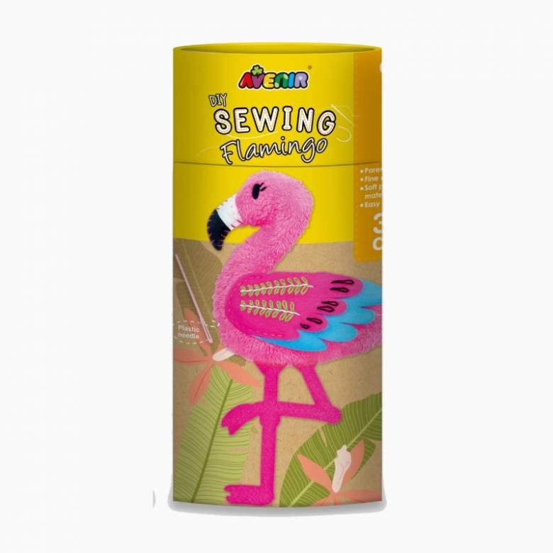 Sewing Doll Craft Kit - Flamingo 6+