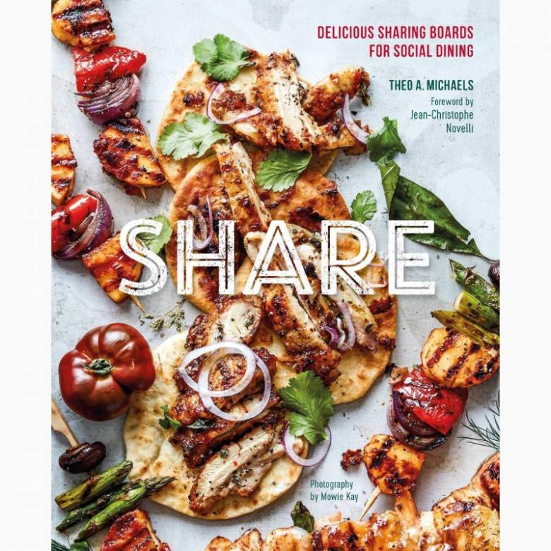 Share: Delicious Sharing Boards - Hardback Book