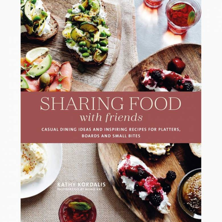Sharing Food With Friends - Hardback Book