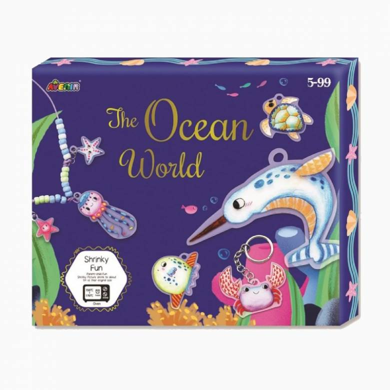 Shrinky Craft Kit - Ocean World 5+