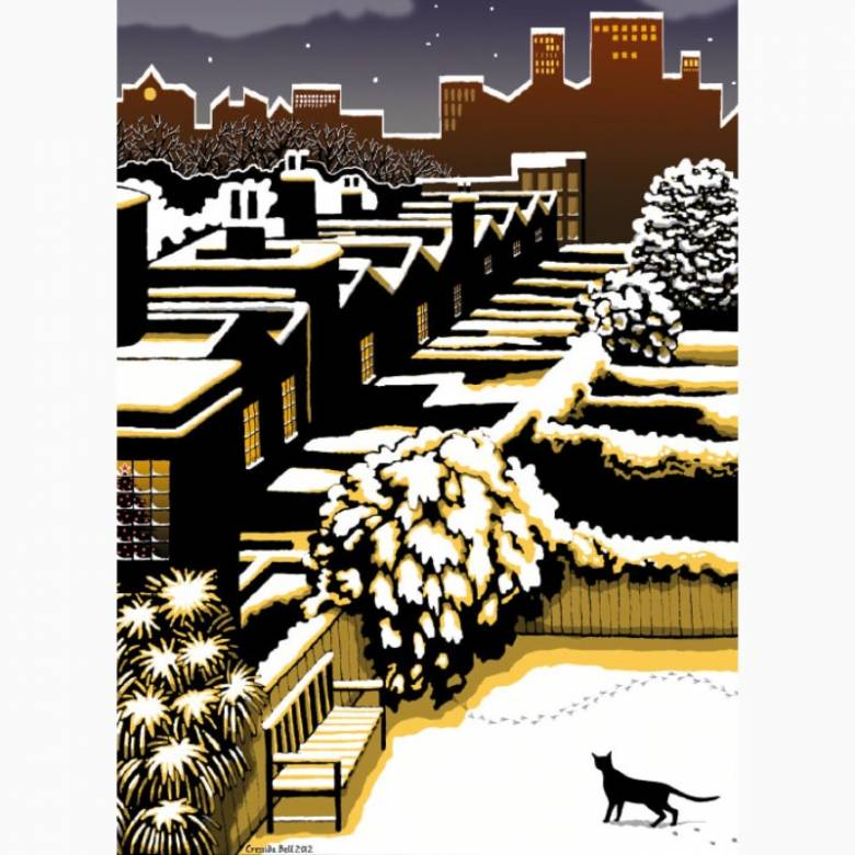 Silent Night - Pack Of 8 Christmas Cards By Museums & Galleries