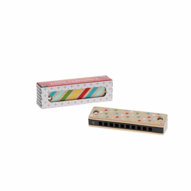 Sing & Play Wooden Harmonica 3+