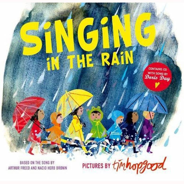 Singing In The Rain - Hardback Book With CD