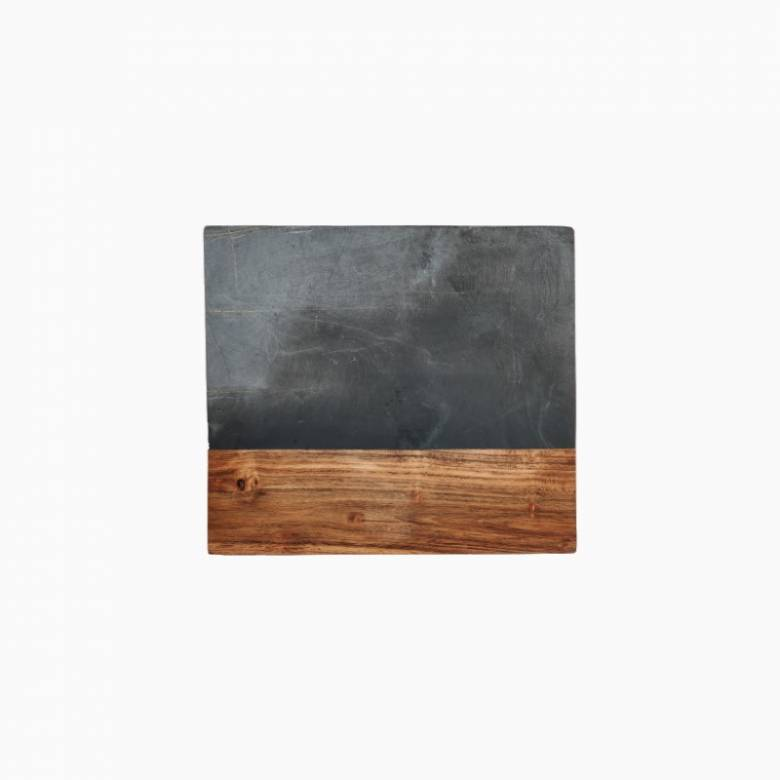 Slate & Acacia Wood Large Chopping Board