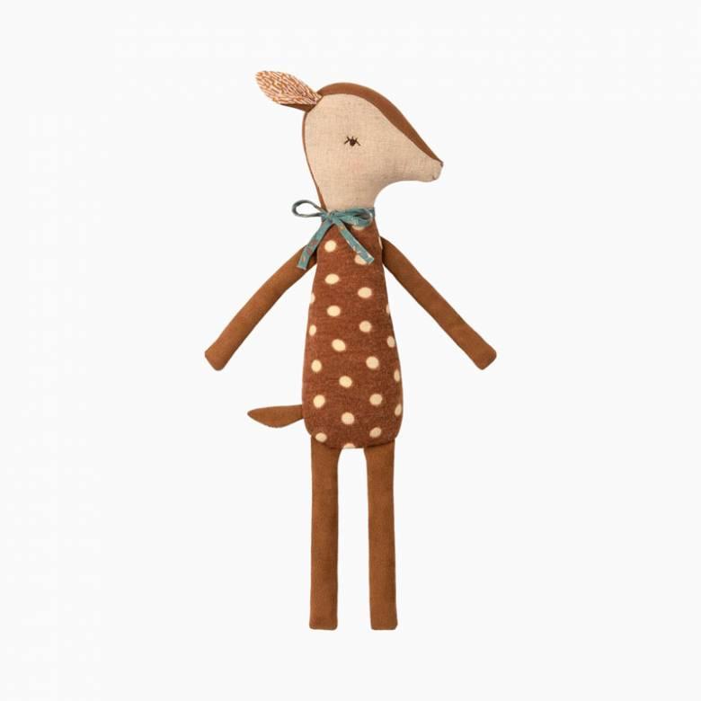 Sleepy Bambi Soft Toy By Maileg