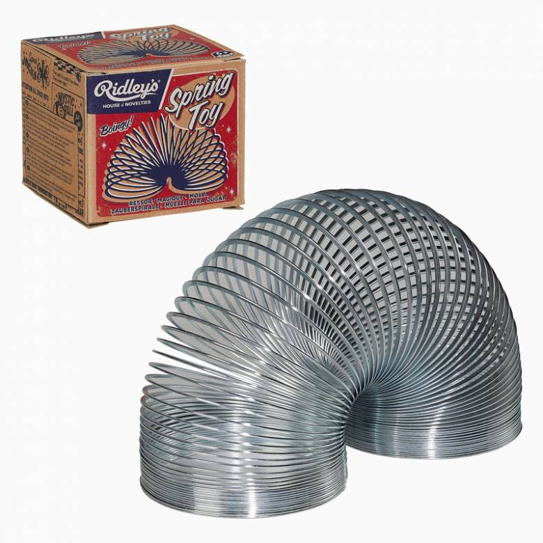 Slinky Metal Springy Toy 6+