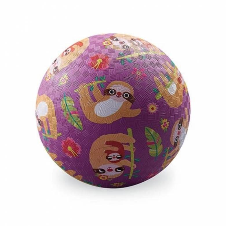 Sloth - Small Rubber Picture Ball 13cm