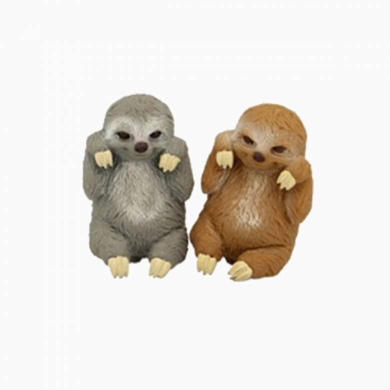 Sloth Stretchy Beanie Animal Toy 3+