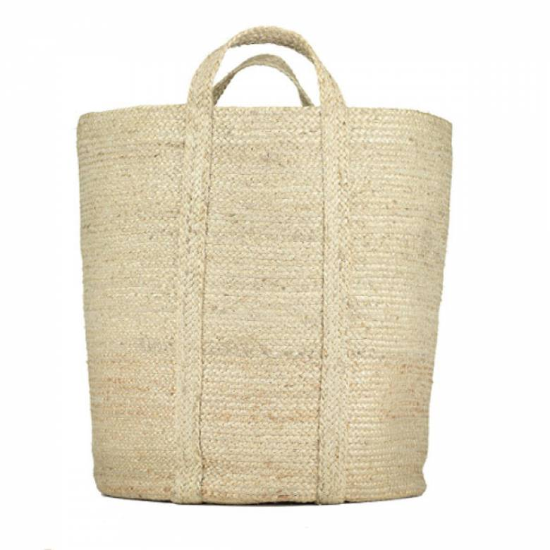 Slouchy Basket In Natural 42x47cm