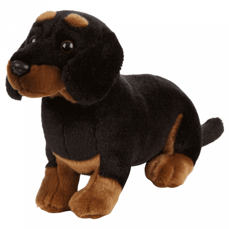 Small Dachshund Dog Soft Toy 0+