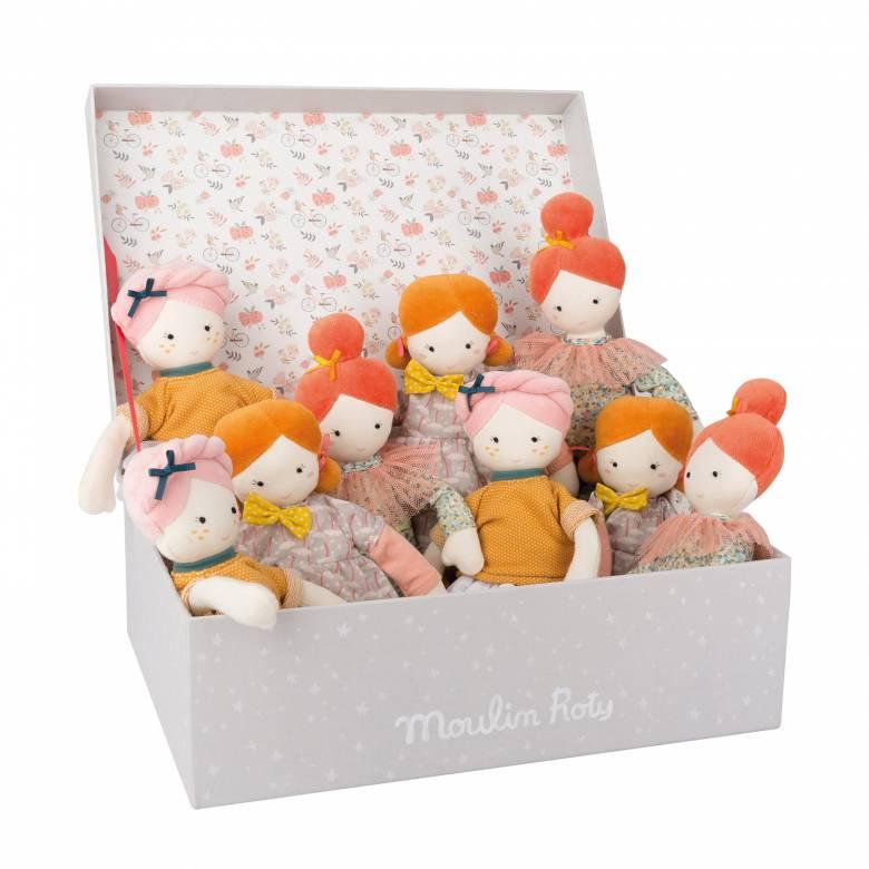 Small Doll Les Parisiennes Doll - Various Designs 2+