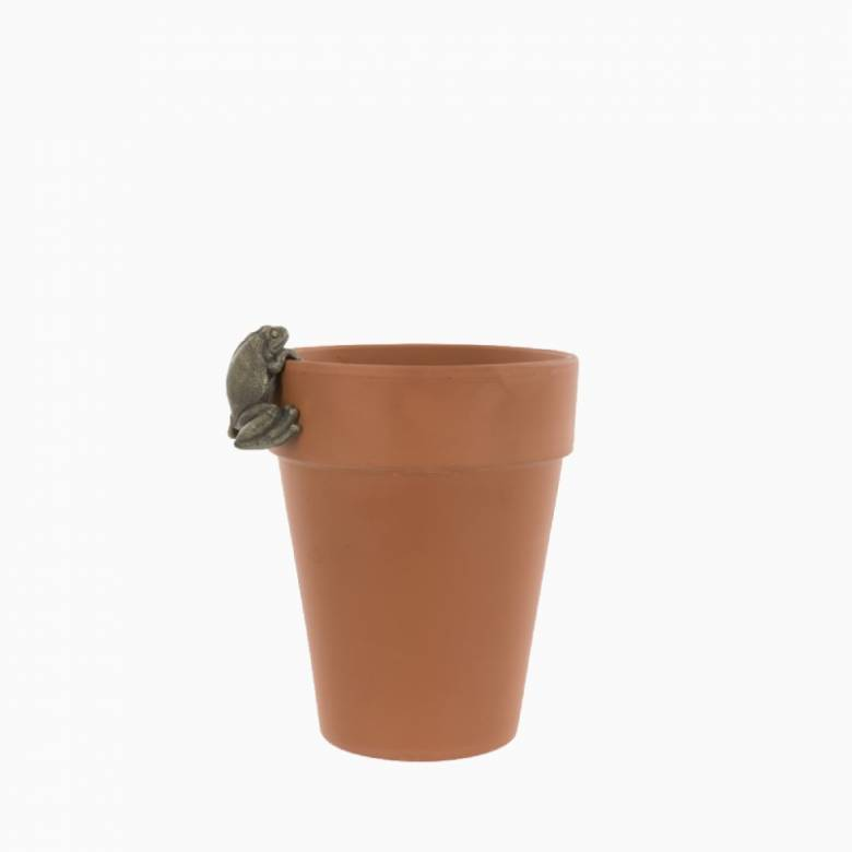 Small Frog Plant Pot Hanger