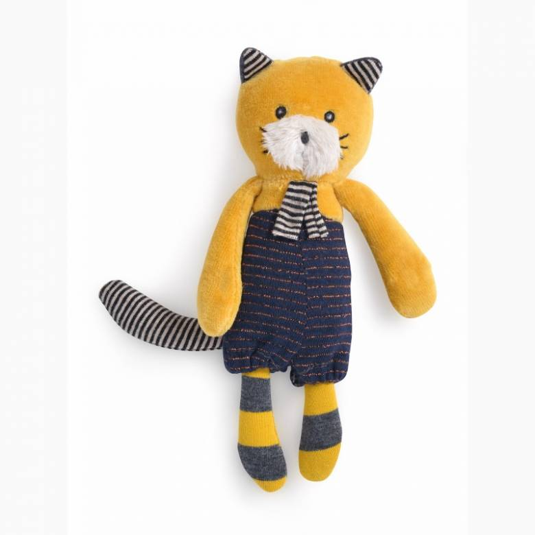 Small Lulu the Cat Soft Toy Les Moustaches 0+