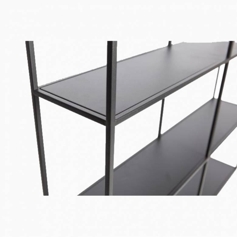 Meert Metal Wall Shelf With 6 Slots 75cm