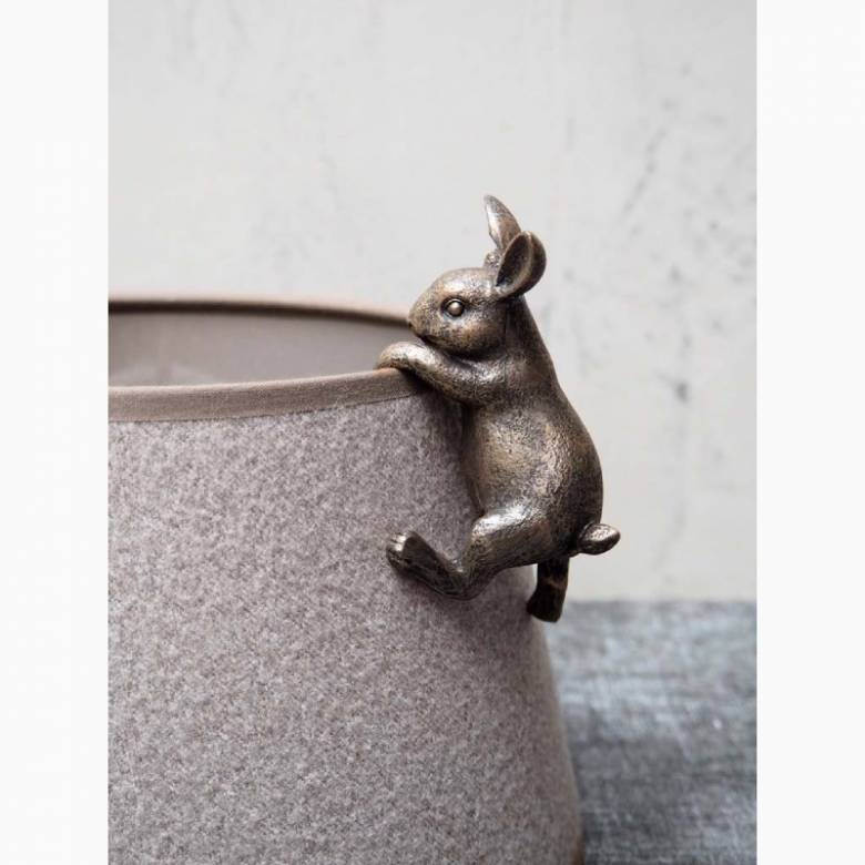 Small Rabbit Plant Pot Hanger Decoration