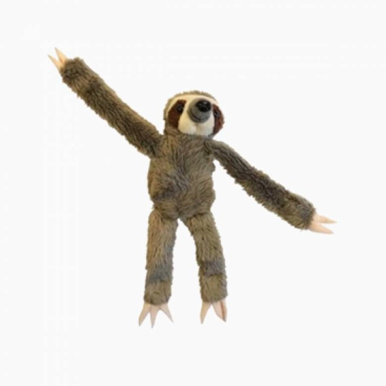 Small Sloth Magnet Mate Soft Toy