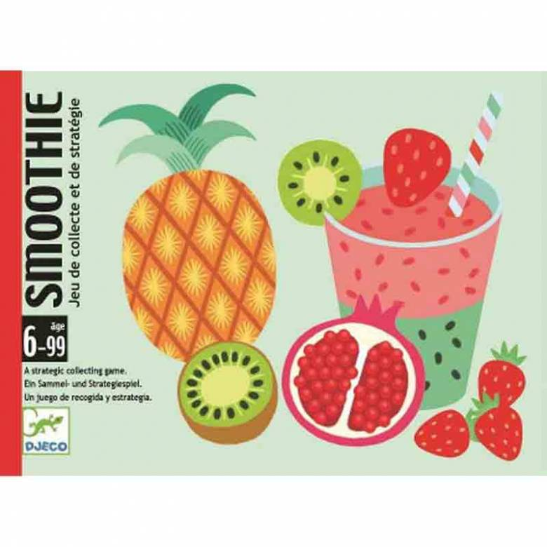 Smoothie Card Game By Djeco 6-99yrs