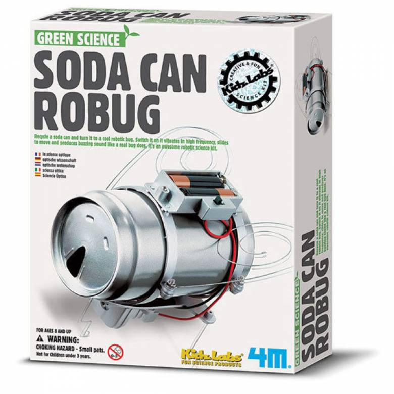 Soda Can Robug - Science Kit 8+