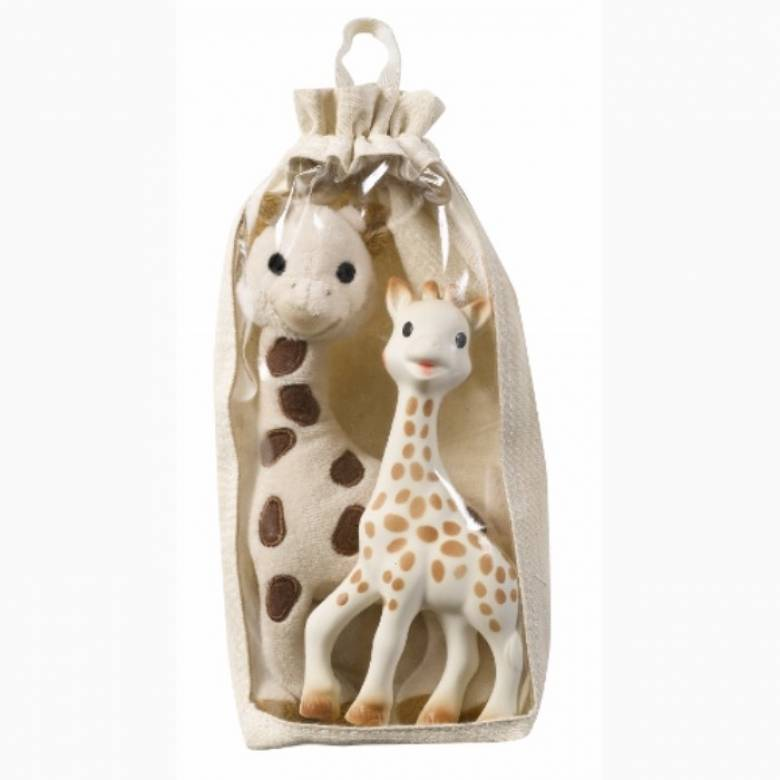 Soft And Original Sophie The Giraffe Gift Set 0+