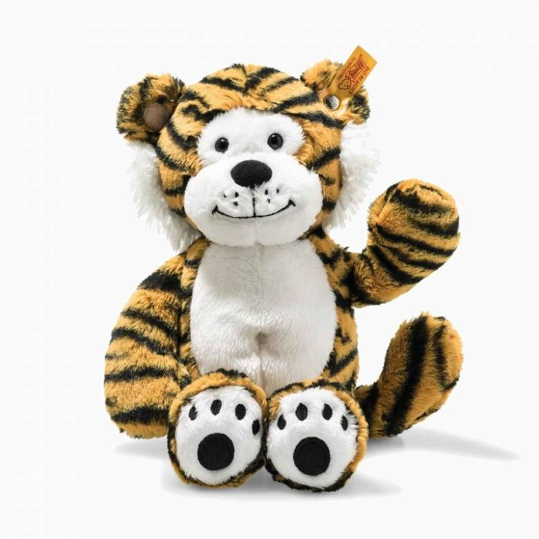 Soft Cuddly Friends Toni Tiger Soft Toy By Steiff