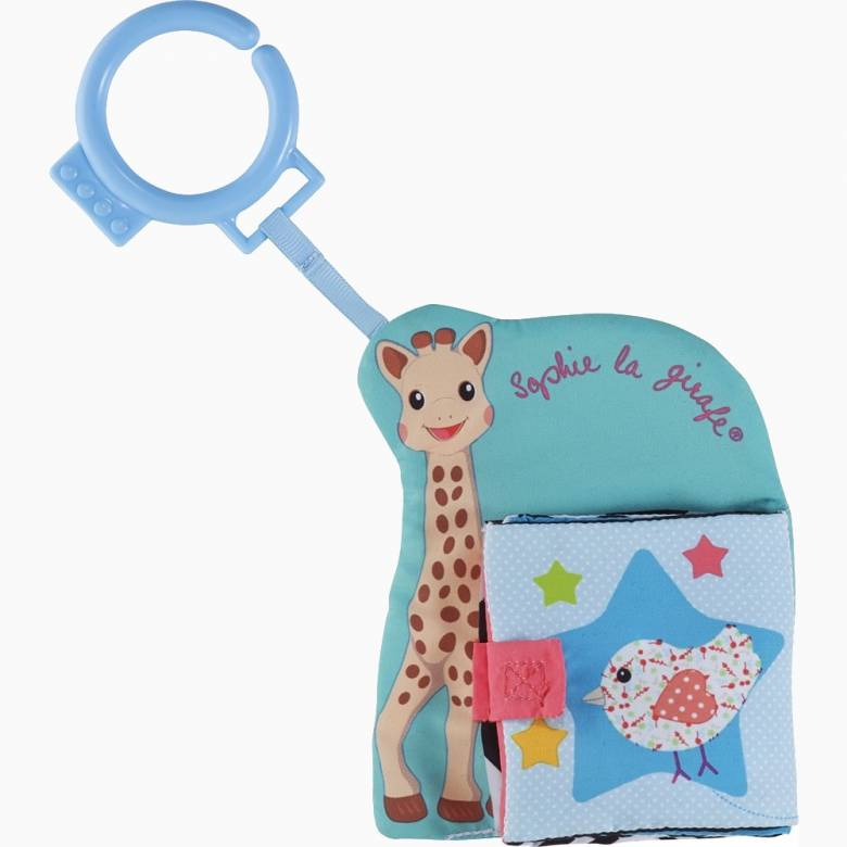 Sophie La Girafe Clip On Fabric Book 0+