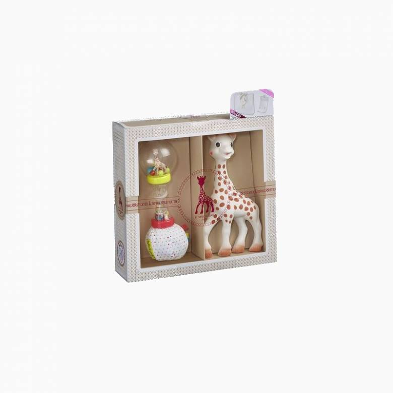 Sophie La Girafe Sophisticated Maracas Gift Set 0+