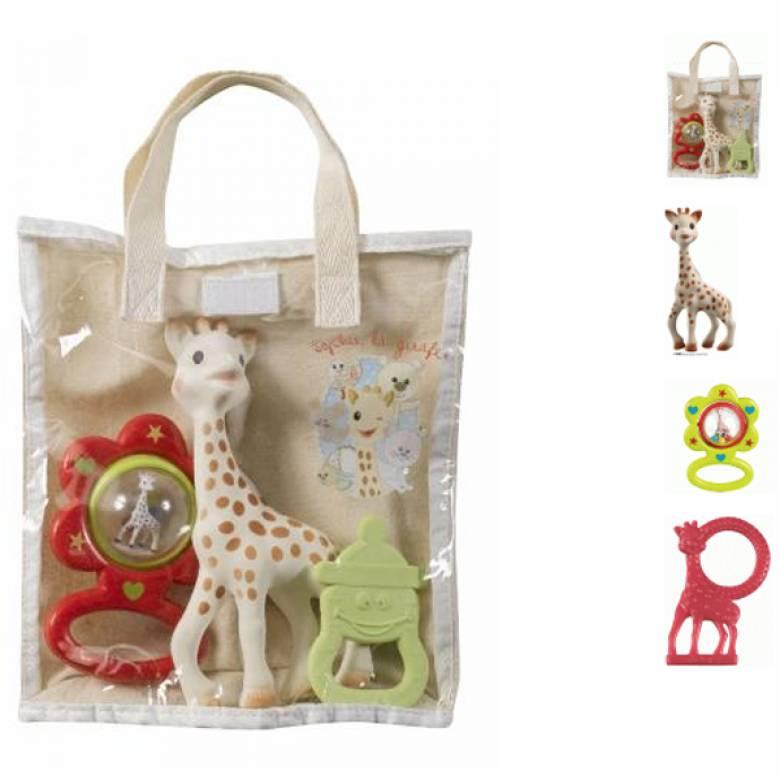 Sophie the Giraffe Gift Bag Set