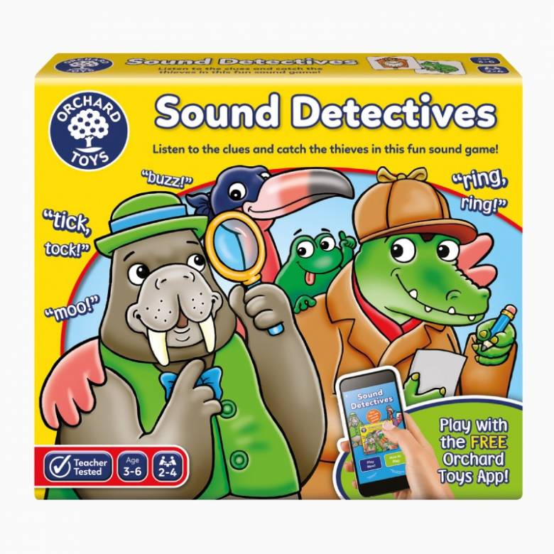 Sound Detectives Game By Orchard Toys 3+
