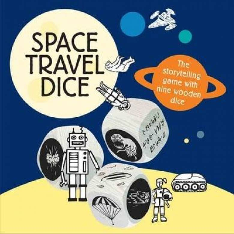 Space Travel Dice Story Telling Game 6+
