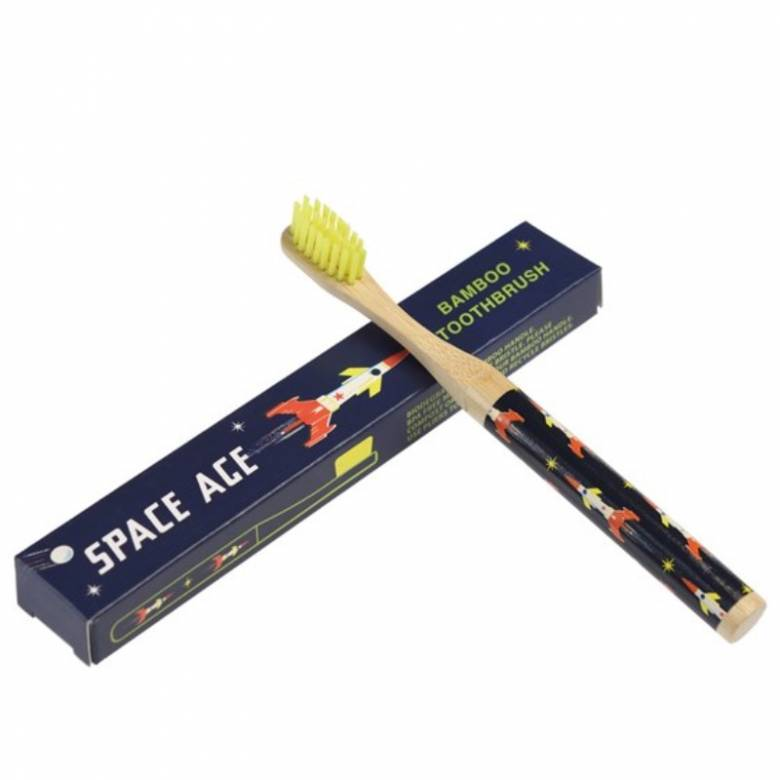 Space Age Bamboo Toothbrush