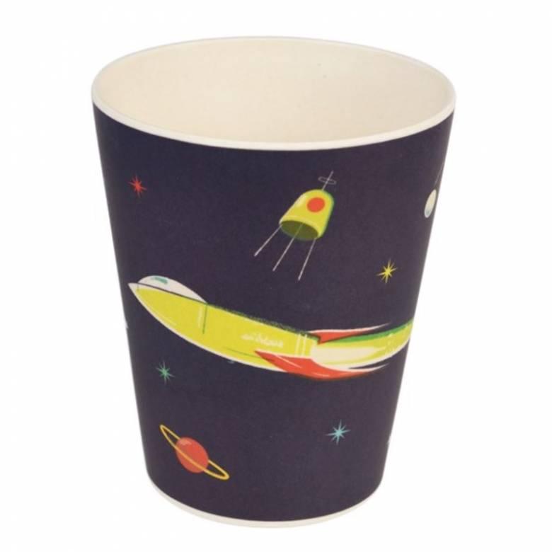 Space Age Bamboo Beaker