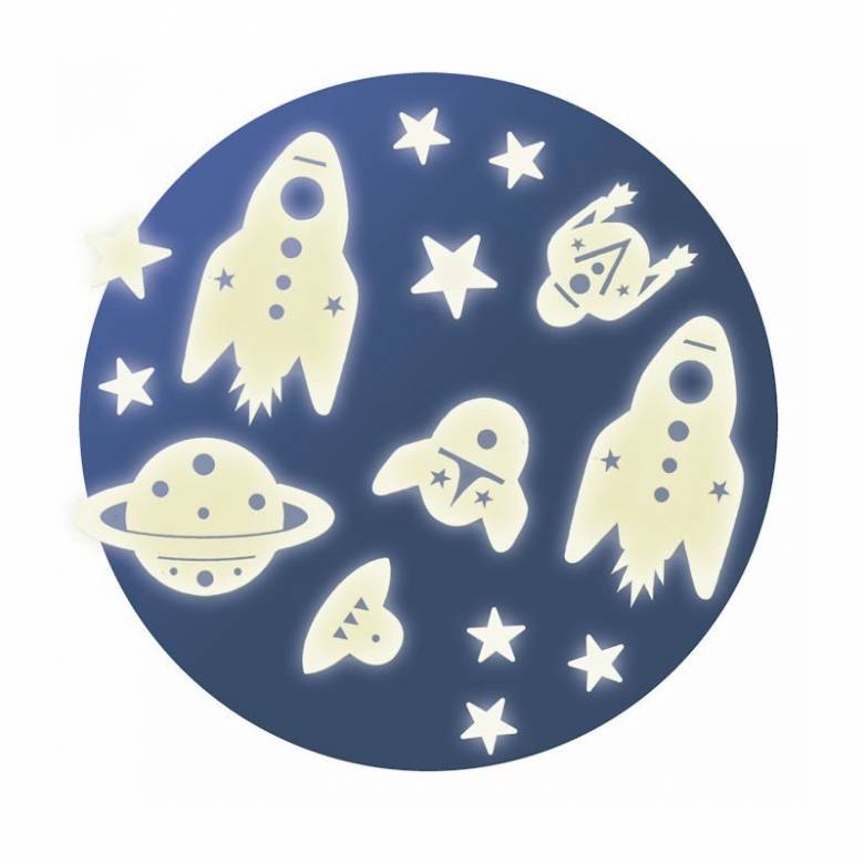 Space Mission - Glow In The Dark Room Stickers