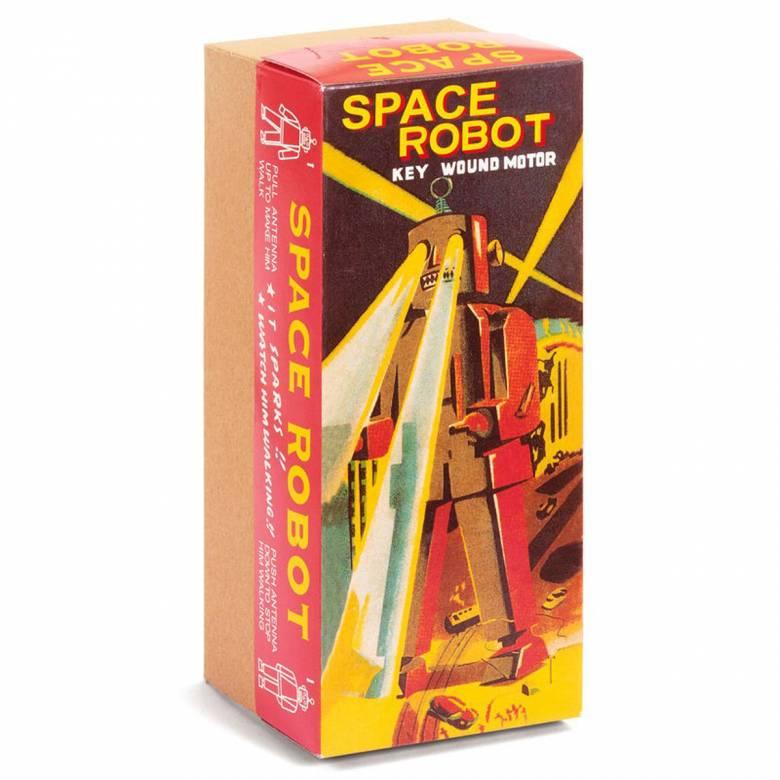 Space Robot Tin Toy 21cm