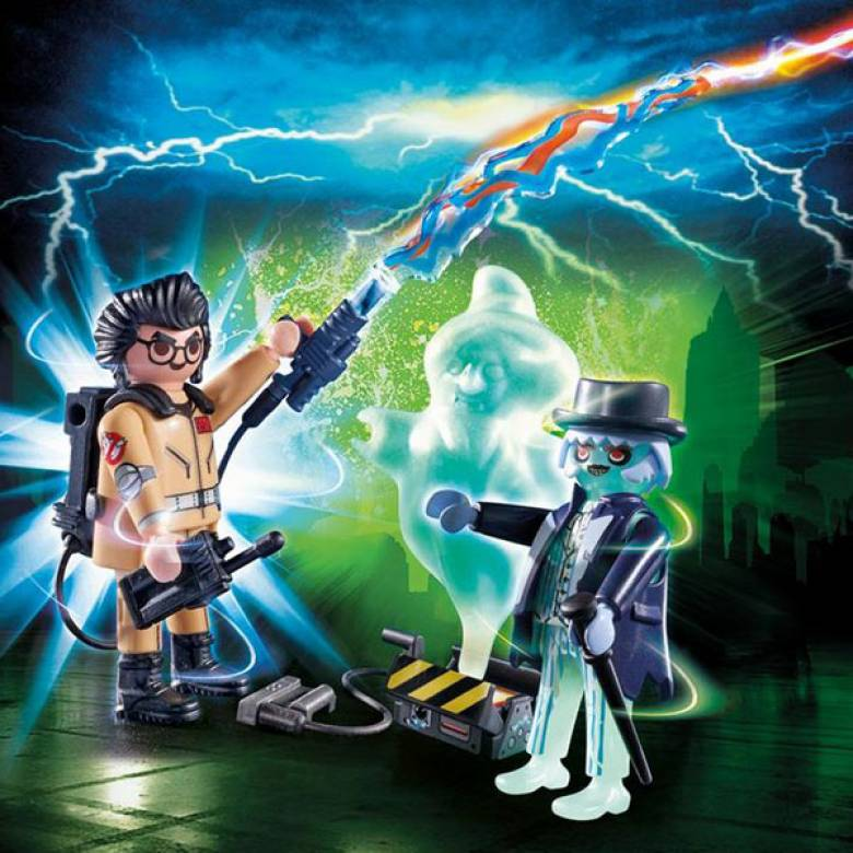 Ghostbusters™ Spengler And Ghost Playmobil 9224