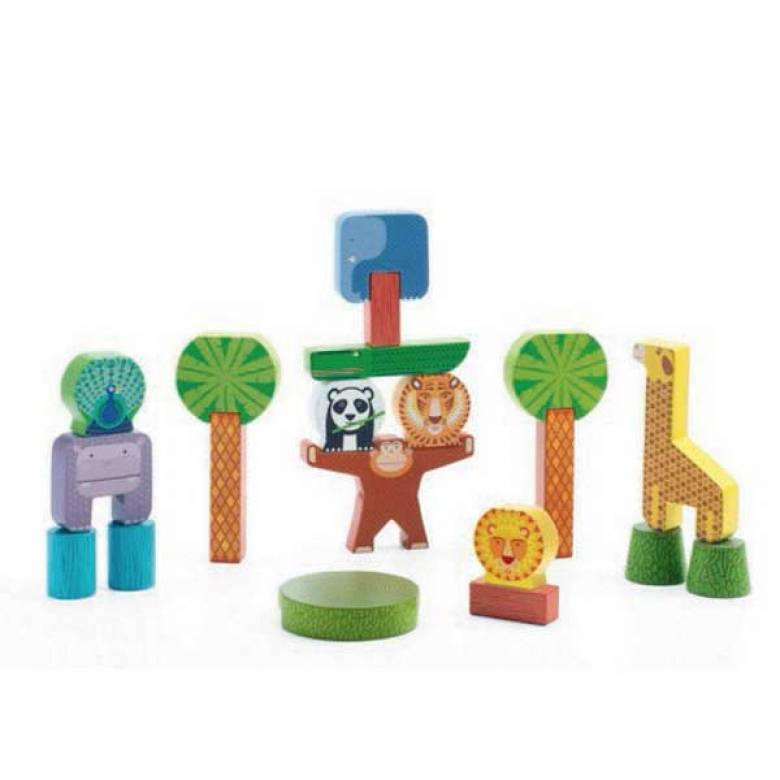 Stacky Jungle Animal Stacking Blocks 2yr+