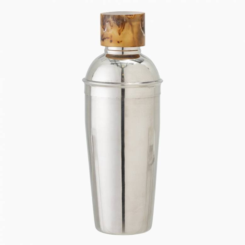Stainless Steel Cocktail Shaker With Resin Top