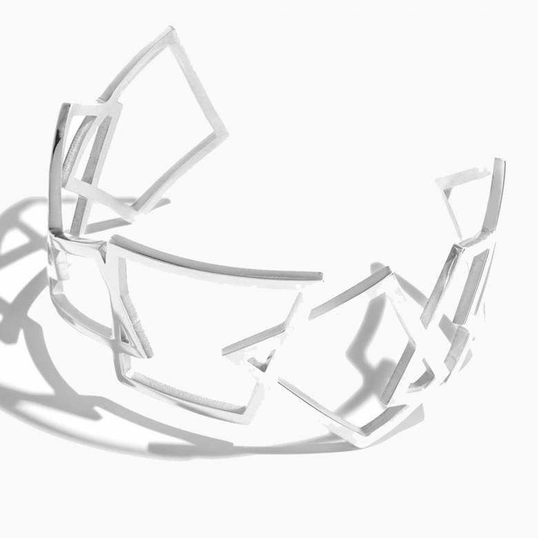 Hepworth Steel Cuff By Esa Evans