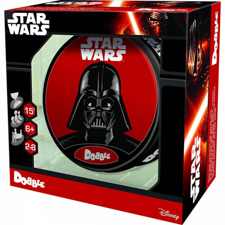 Star Wars Dobble Card Game In Tin 6+