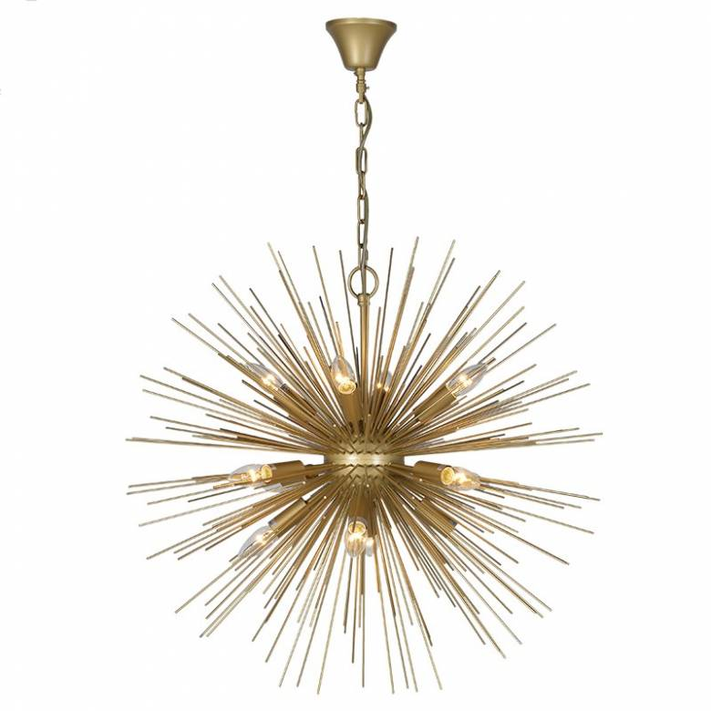 Supernova Starburst Ceiling Pendant Light