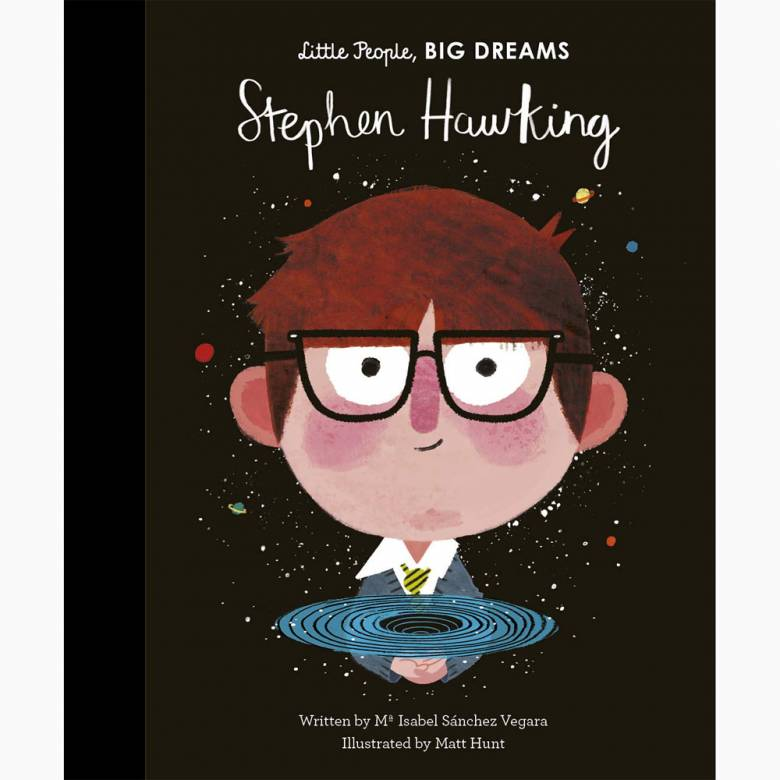 Stephen Hawking: Little People Big Dreams Hardback Book