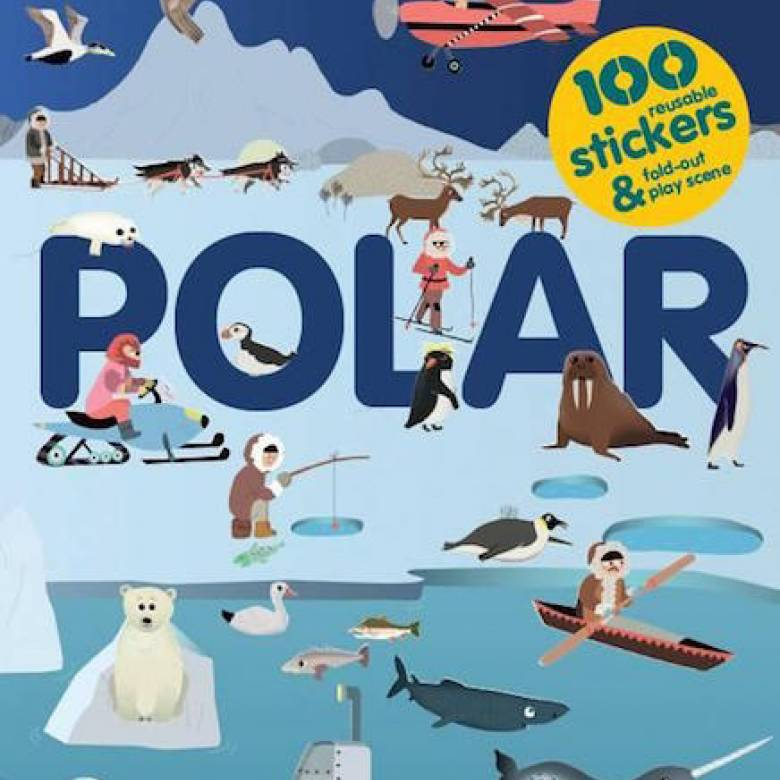 Stickyscapes: Polar Sticker Book