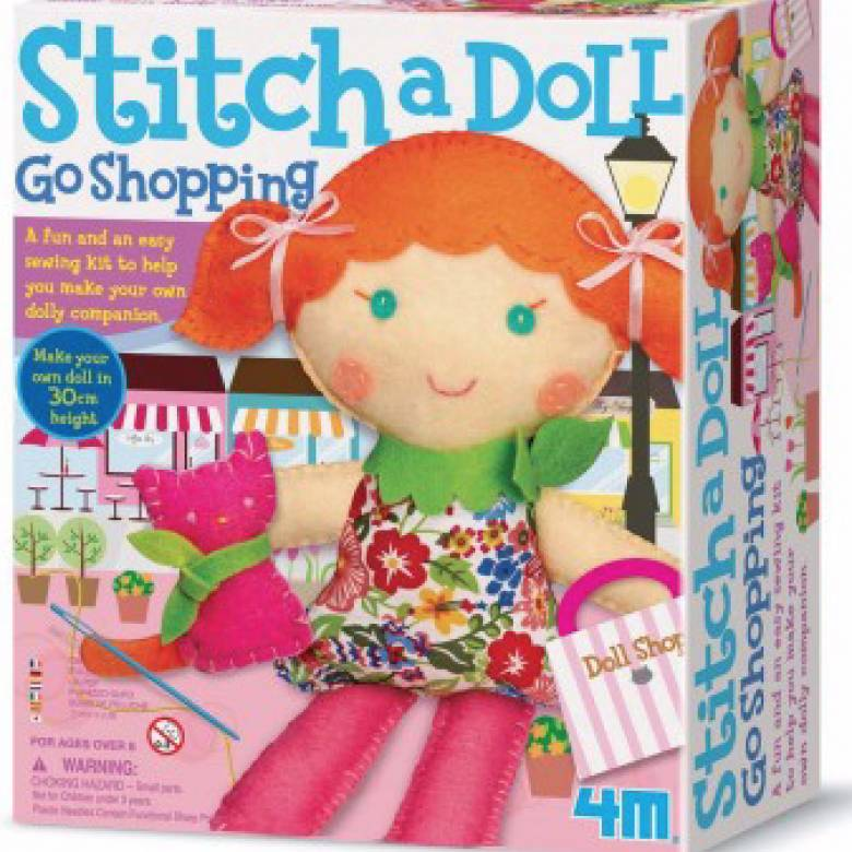 Stitch A Doll - Pet Kitty Craft Kit
