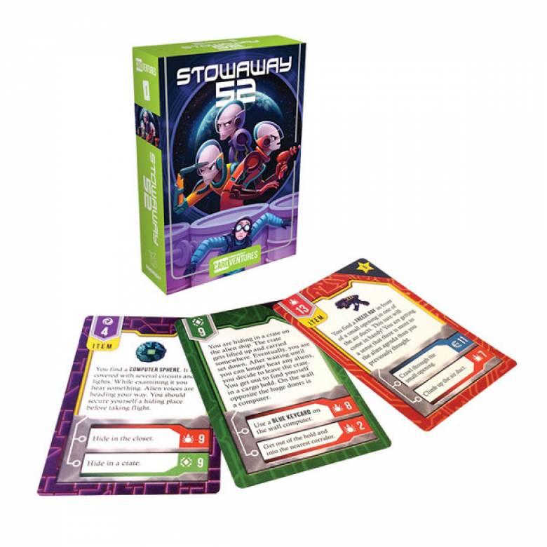Stowaway 52 Cardventures Card Game 8+