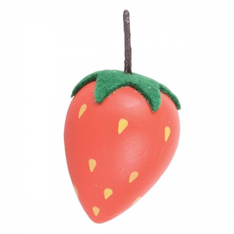 Single Wooden Food STRAWBERRY
