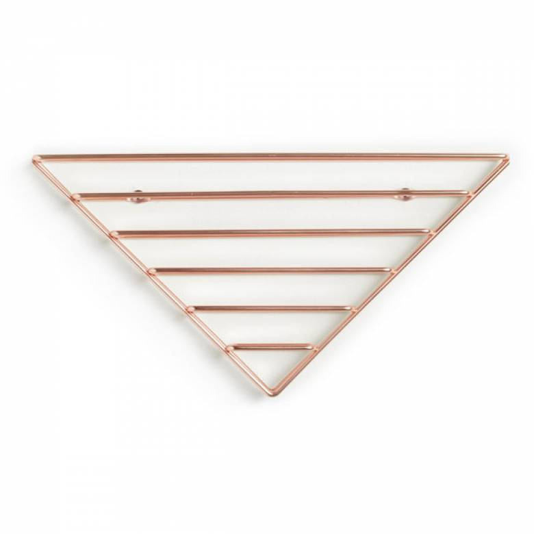Strum Shelf/ Organiser In Copper