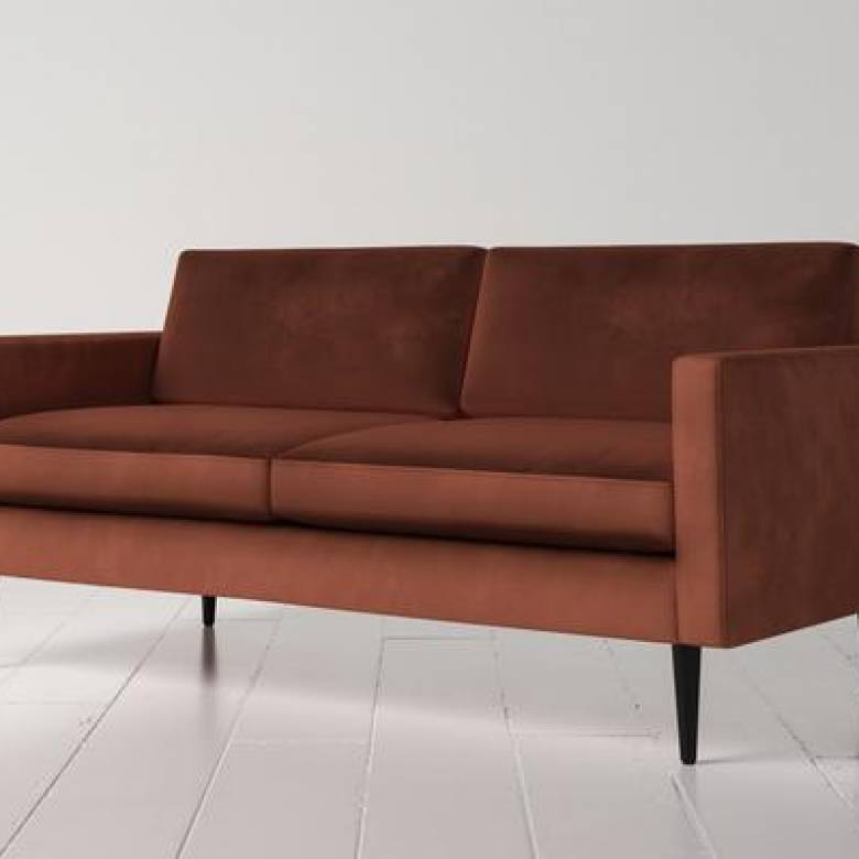 Swyft - Model 01 - 2 Seater Sofa - Velvet Brick