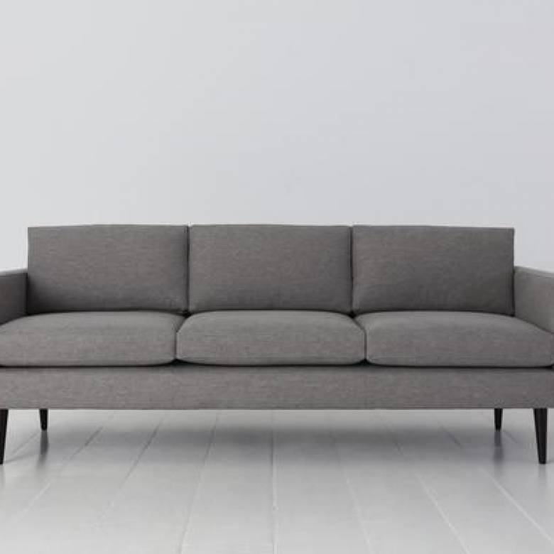 Swyft - Model 01 - 3 Seater Sofa - Linen Shadow