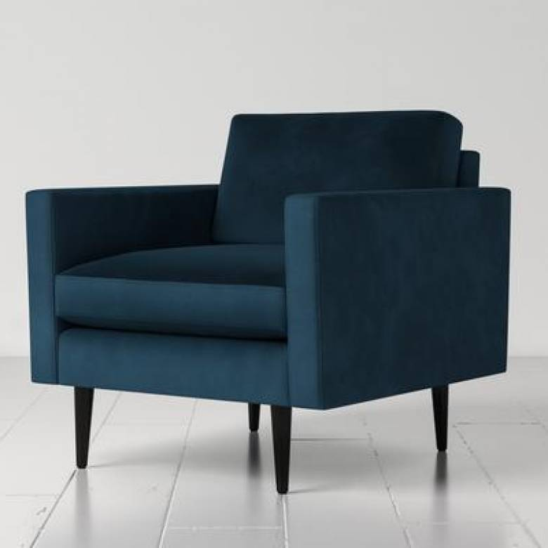 Swyft - Model 01 - Armchair - Velvet Teal